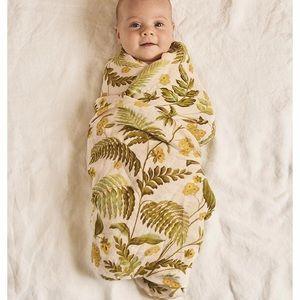 Bohemian Mama Banabae Rainforest Baby Swaddle